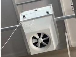 大空间热水型暖风机
