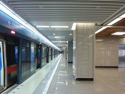 西安地铁侧吹空气幕案例