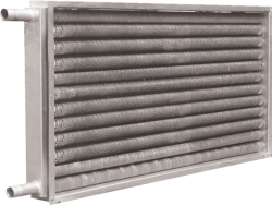 钢管绕铝翅片换热器